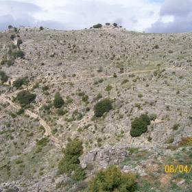 Gairo, panorama dal sentiero T-102