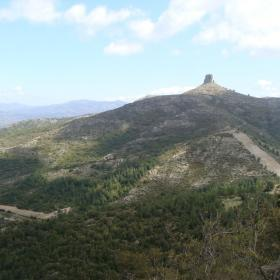 Vista di Perda liana da Montarbu