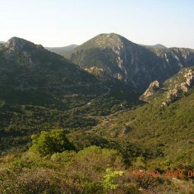 Buggerru, panorama lungo il sentiero D-303
