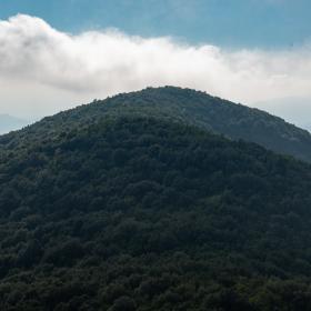 La vetta di Is Pauceris Mannus, meta della escursione