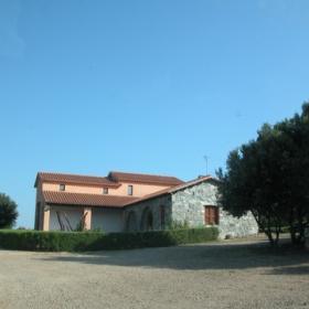 Caseggiato Ente Foreste della Sardegna in località Suergius Lobaus
