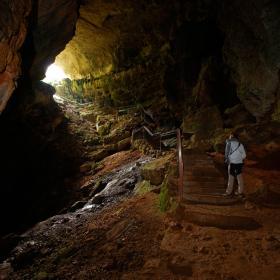 Ulassai, grotta di Su Marmuri