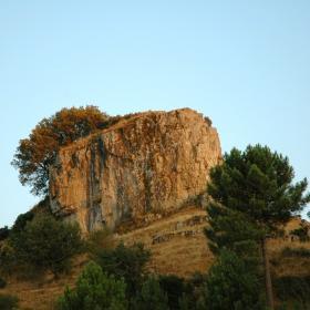 Monumento naturale di Texile (foto Curreli M.)