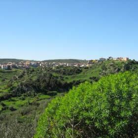 Panorama di Villasalto