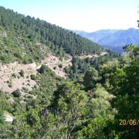 Talana vista panoramica