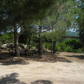 Teti, area di sosta Monte Corte