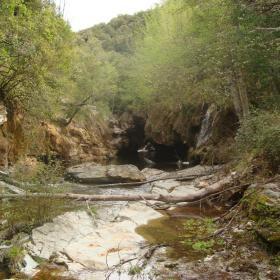 Ussassai, torrente Sa Taula in località Niala