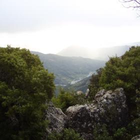 Vista panoramica sulla Valle del Pardu