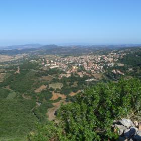 Panorama di Laconi