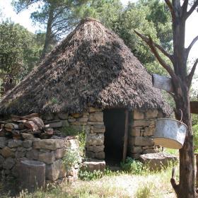 villaggio pastorale nei pressi del sentiero 201