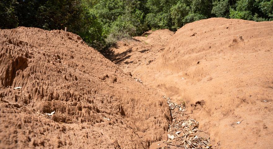 I fanghi della miniera di Barraxiutta