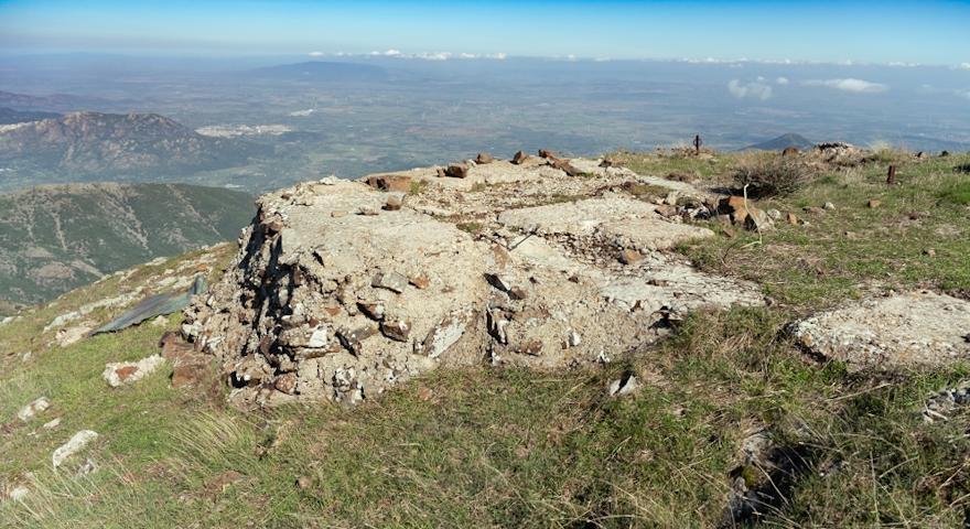 Le cime di Punta Perda de sa Mesa
