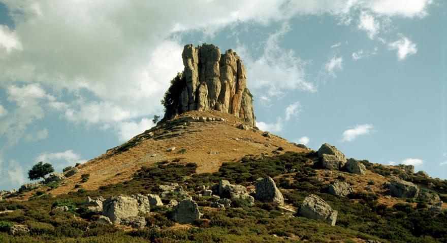 Perda 'e Liana, primo piano del monumento naturale