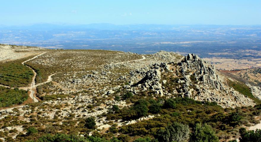 panorama da punta Badde Urbara