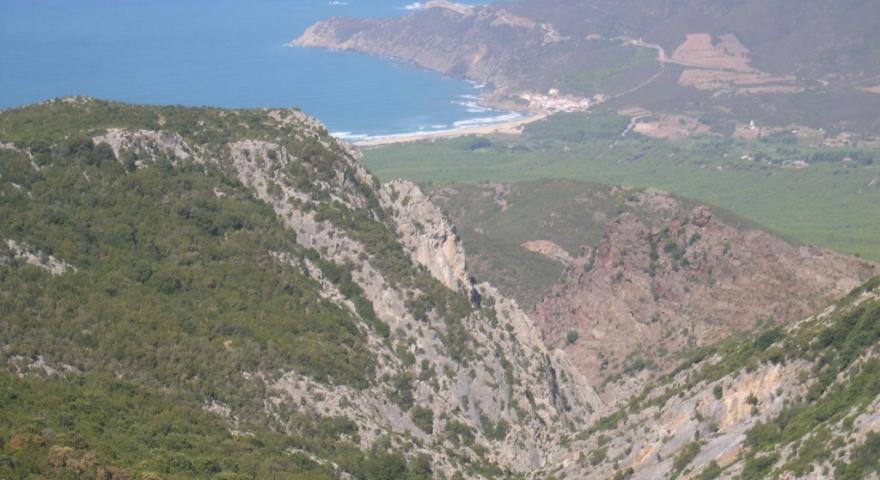 Buggerru, panorama di Portixeddu