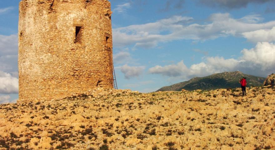 Torre spagnola, punto panoramico presso Cala Domestica