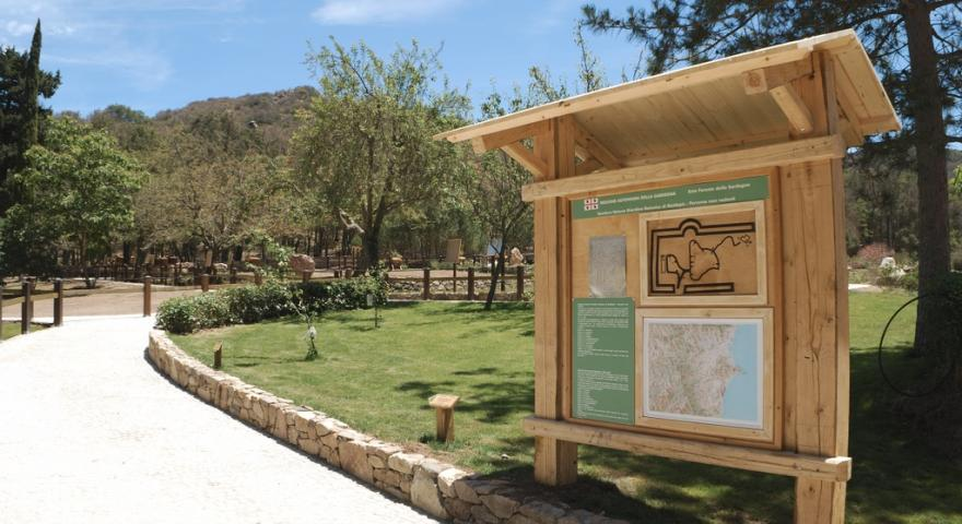 Maidopis, l'Orto Botanico