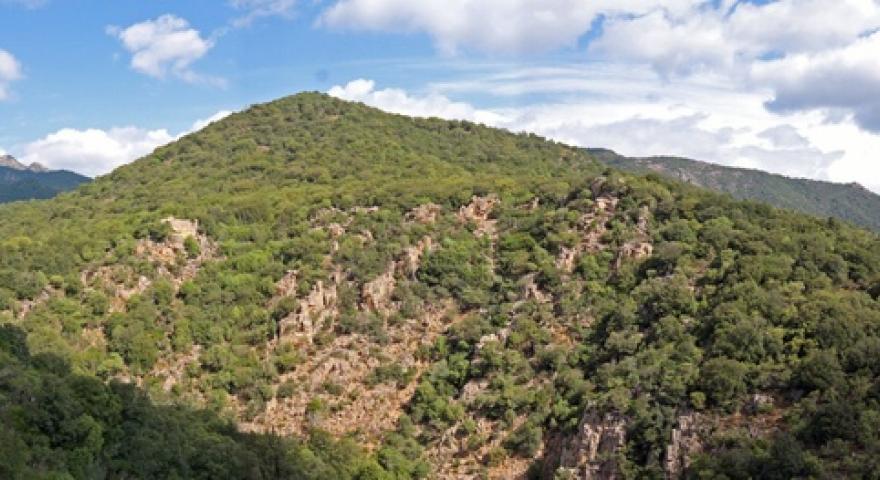 Panorama dal Monte Lattias