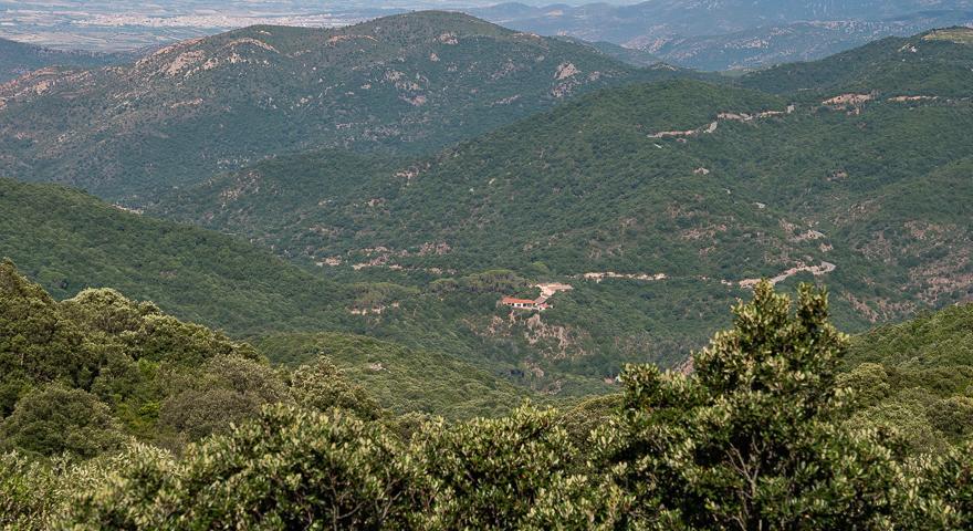 l'area di Caserma Noci e della prima parte della 28ma tappa