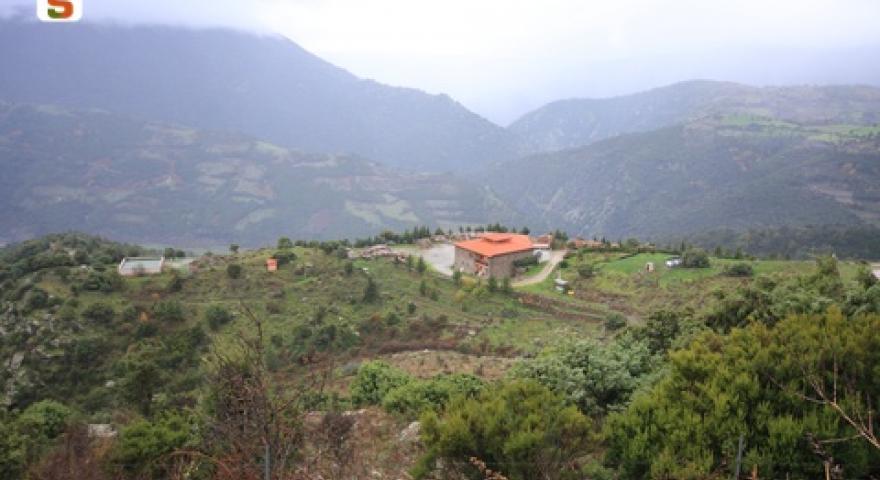 Aritzo, struttura dell'Ente Foreste della Sardegna