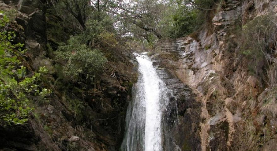 Cascatella in località Piscina de Licona