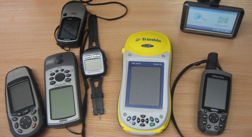 Assortimento di dispositivi GPS