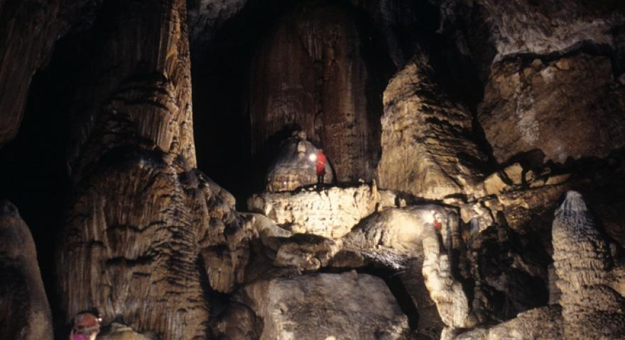 Ulassai, grotta di Su Marmuri: gallerie speleo turistiche