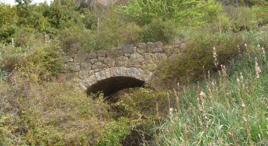Ussassai, ponte in pietra