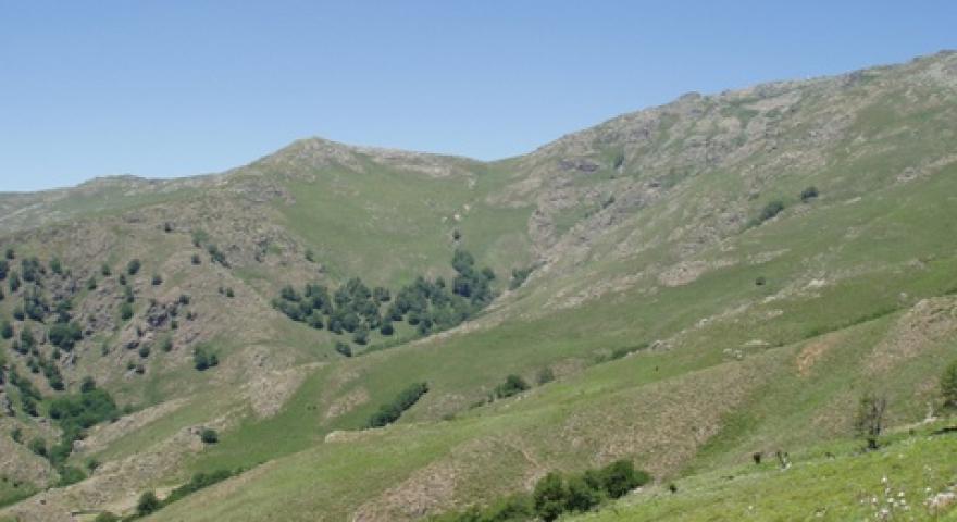 Veduta panoramica dal sentiero T-723