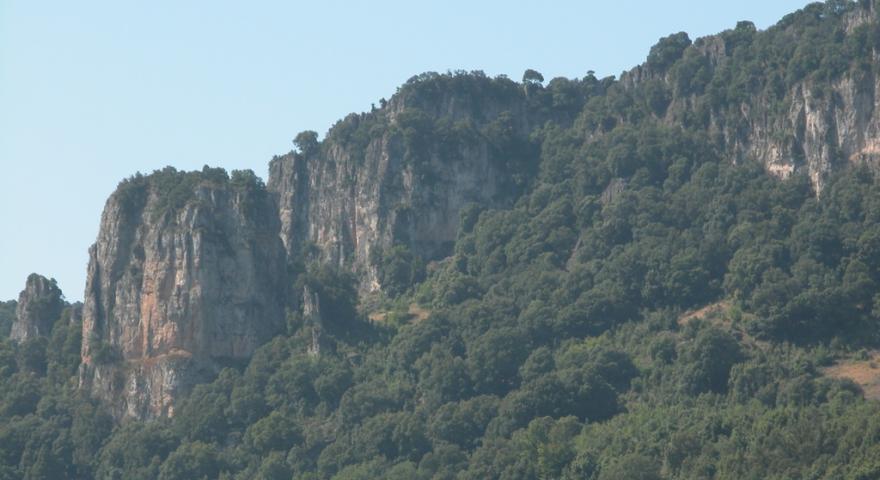 Panoramica del Taccu Ticci