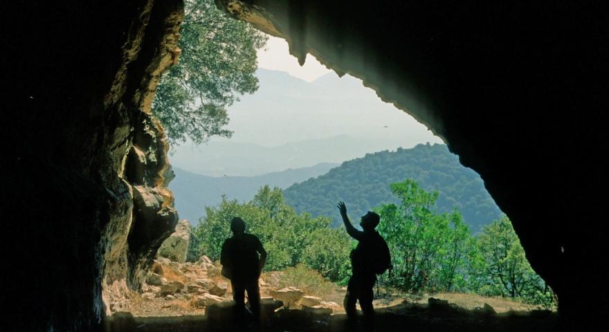 Monte Albo, grotta Omines agrestes