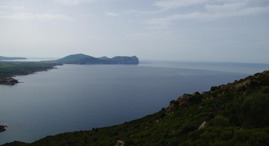 Punta Cristallo vista da punta Capparoni