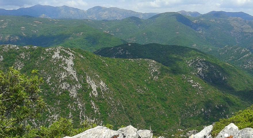 Marganai, panoramica sulle cime