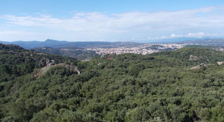 Nuoro vista dal monte Ortobene
