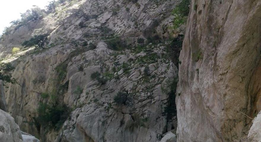 panoramica da un' escursione Gorroppu