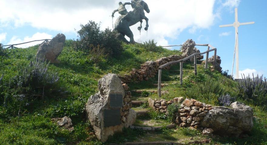 statua s.ignazio su punta carradore