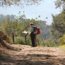 Durante un'escursione porta sempre la mappa con te