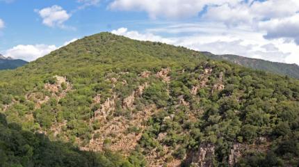 Panoramica del Monte Lattias
